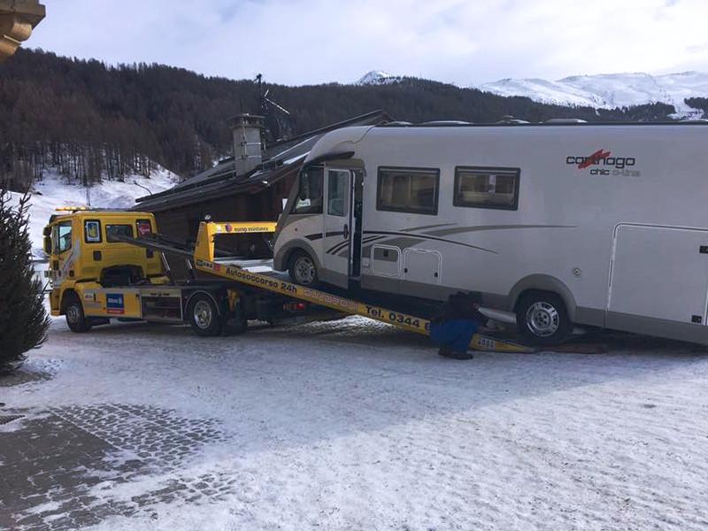 soccorso stradale automezzi, camper, pulman